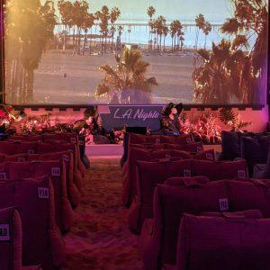 LA Nights- Backyard Cinema- Wandsworth