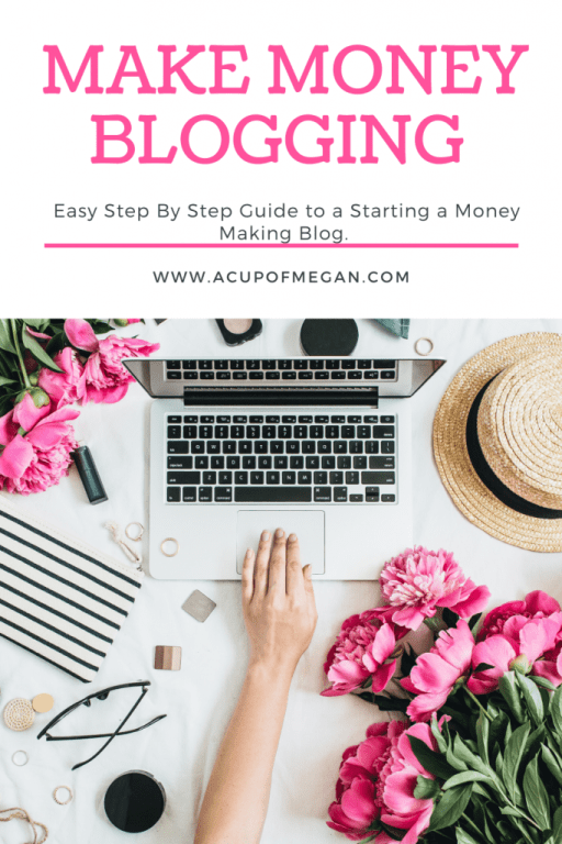 How to start a blog - The easiest no stress guide - get your website up and running in 10 minutes - start a blog - grow a blog - monetize - blog for profit - make money blogging   acupofmegan.com