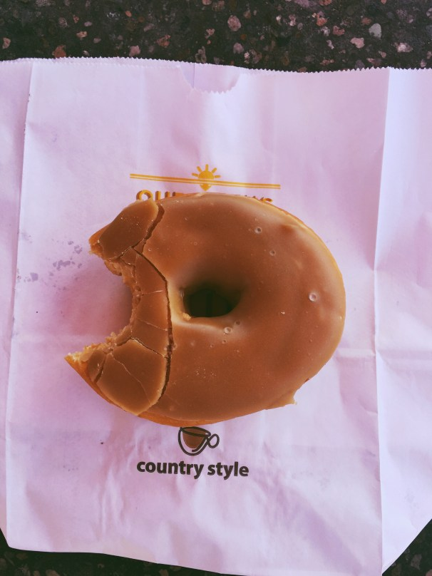 Country Style Maple Donut- Taken by Tori