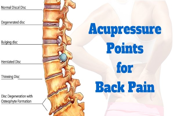 Acupressure Points For Back Pain Important Tips