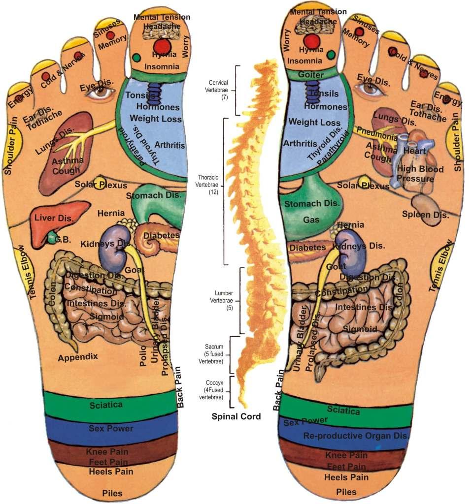 Foot Acupressure Points