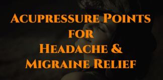Acupressure Points for Headache & Migraine Relief