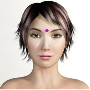Third Eye Point Acupressure