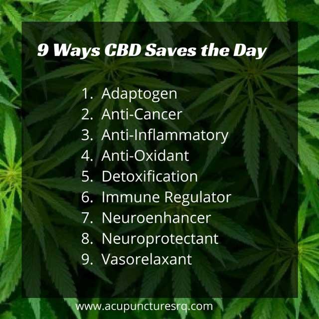 9 Way CBD Saves The Day