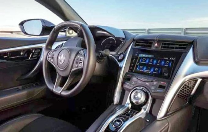 2019 Acura ILX Type S Interior