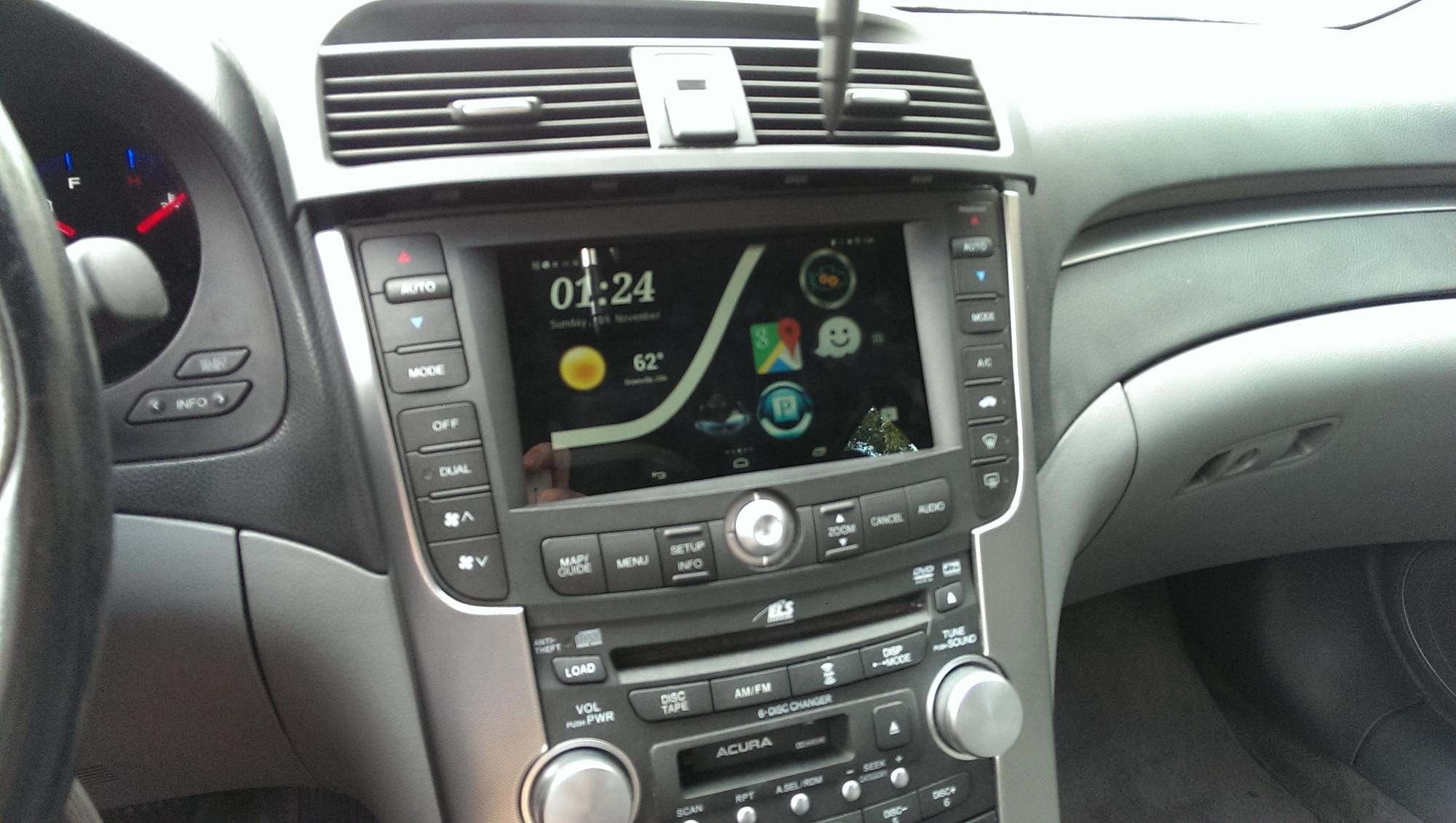 2006 Acura TL Nexus 7 Install AcuraZine Acura