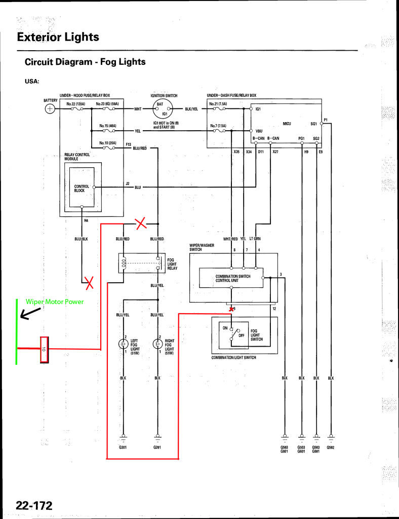 wiring diagram for fog light switch free download wiring diagram rh xwiaw us Fog Light Wiring Schematic 2007 Toyota Tacoma Wiring Diagram