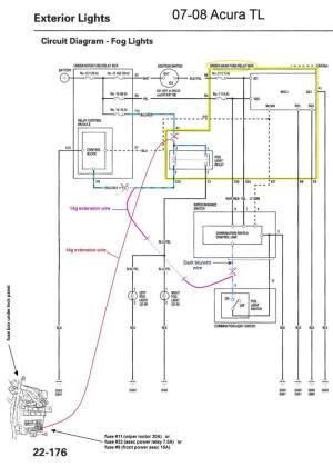 G029: '07'08 Acura TL DIY Fog light Mod  AcuraZine