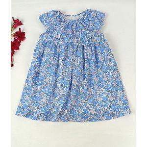 Vestido de niña Liberty Cielo