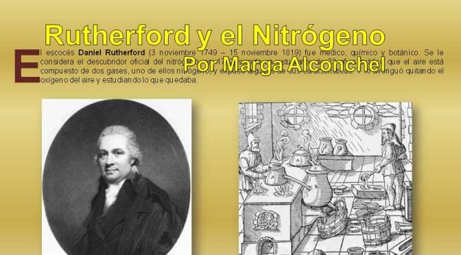 Rutherford y el Nitrógeno por Marga Alconchel Ferreira