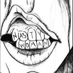Nasty Woman By Megan Johnson The West Ottawan West Ottawa HS 1st Place Division 1, Art & Illustration Editorial Cartoon