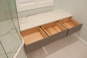 150 bench seat drawers