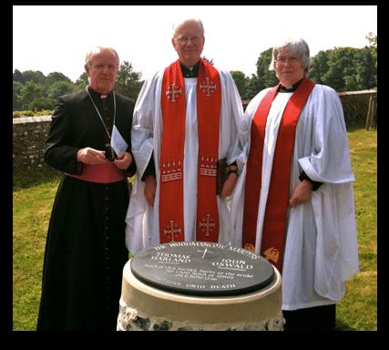 Bishop Kieran Conroy, Dean Nicholas Frayling, Rev'd Christina Bennett