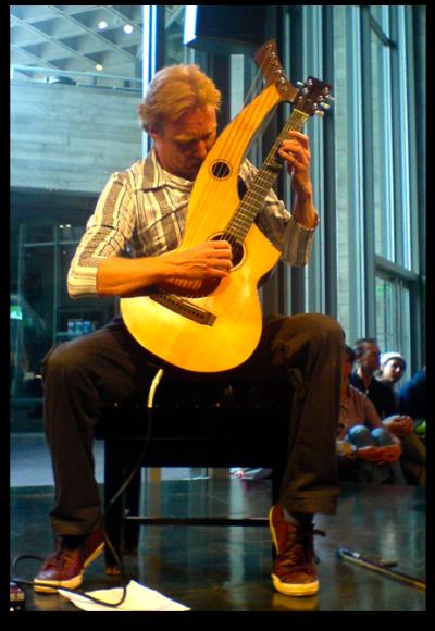 Jason Carter and the Harp-Guitar