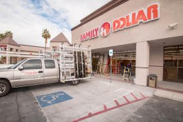 Family Dollar Brand New Commercial Storefront - Las Vegas, Nevada