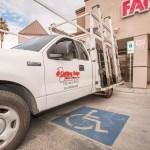 Work Vehicle - A Cutting Edge Glass & Mirror of Las Vegas, Nevada