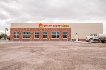 Peter Piper Pizza - Commercial Storefront Glass