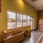 Inside East Side of Building - Commercial Glass
