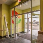 Peter Piper Pizza Commercial Storefront Glass - Glazer Work Performed by A Cutting Edge Glass & Mirror of Las Vegas, Nevada