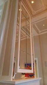 Custom Mirror Wall Column - A Cutting Edge Glass & Mirror