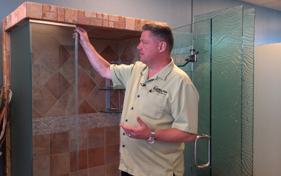 A Cutting Edge Glass & Mirror – How To Replace Worn-Out Poly-Carbonate Shower Doors Strikes