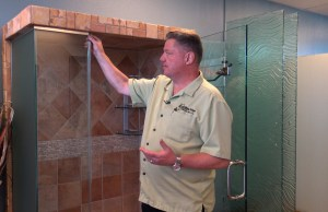 Webisode - How To Replace Poly-carb Striker on Shower Door
