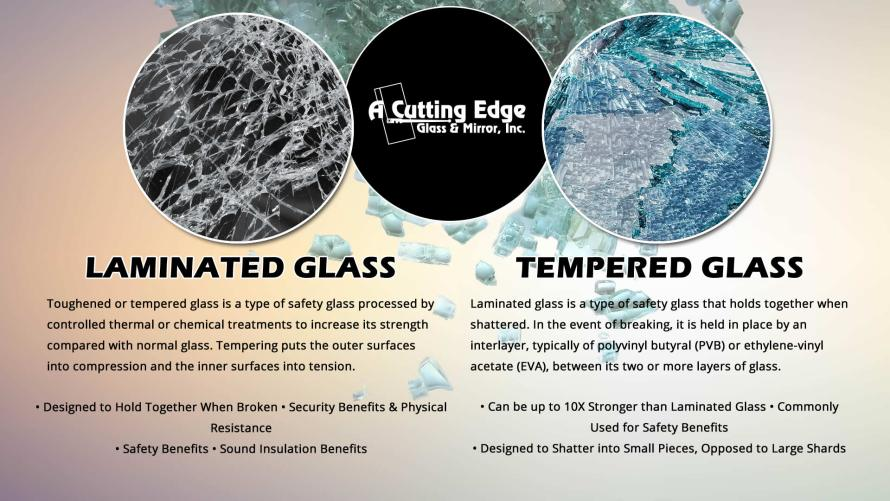 The Difference Between Laminated and Tempered Glass