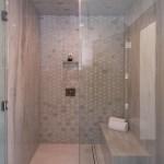Exterior Custom Frameless Shower Door Enclosure