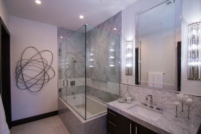 Frameless Shower Door System