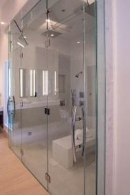 Master Bath Custom Shower Door Enclosure System