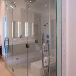 Master Bath Custom Shower Door Enclosure System