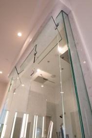Top Portion of Master Bath Custom Shower