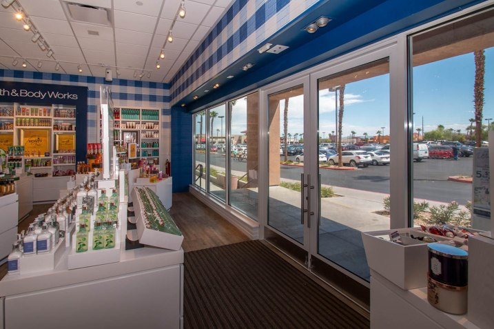 Interior Storefront Glass Services of Las Vegas, Nevada