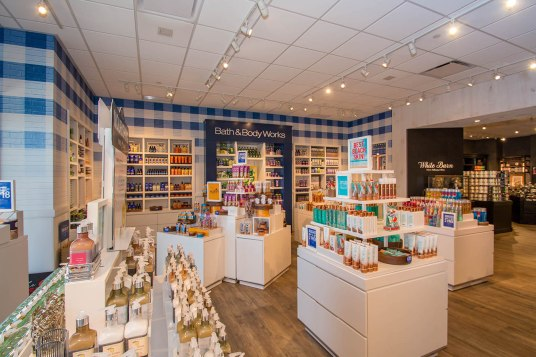 Interior of Bath & Body Works of Las Vegas, Nevada