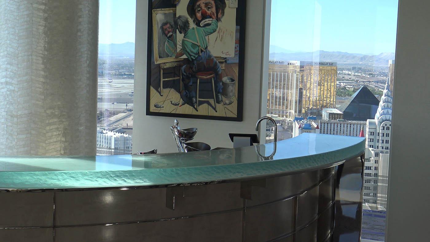 Mandarin Oriental, Las Vegas - Custom Residential Glass Bar Top | A ...