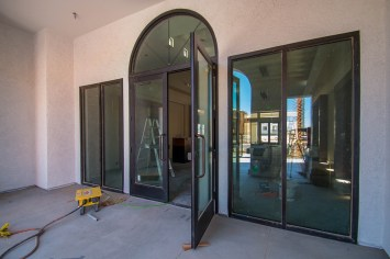 Front Entrance of Castile Apartments Clubhouse Henderson, Nevada