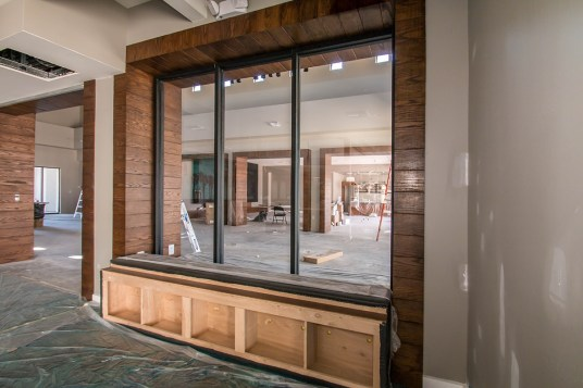 Interior Glass Windows at Castile Apartments