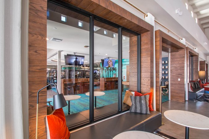 Interior Commercial Glass by A Cutting Edge Glass & Mirror
