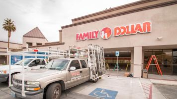 Family Dollar Store Commercial Storefront