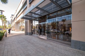 Joeleene's Clothing Store in Downtown Summerlin Las Vegas, Nevada - A Cutting Edge Glass & Mirror Storefront