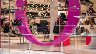 O Shoes Glass Storefront & Shelving Web Featured