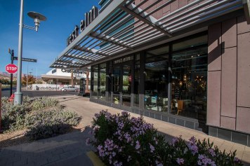 West Elm Commercial Glass Storefront at Downtown Summerlin Mall