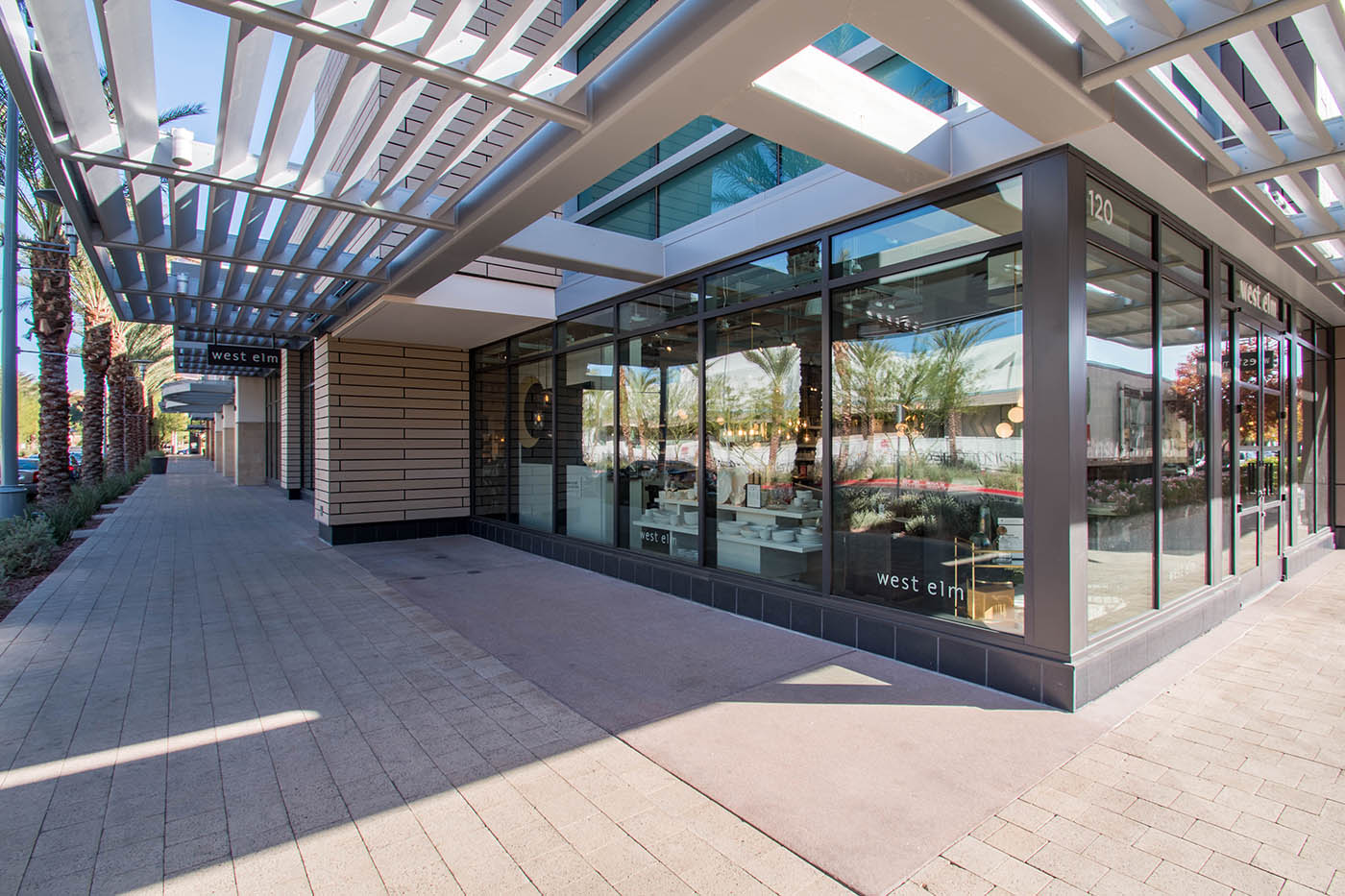 West Elm - Commercial Glass Storefront | A Cutting Edge Glass & Mirror