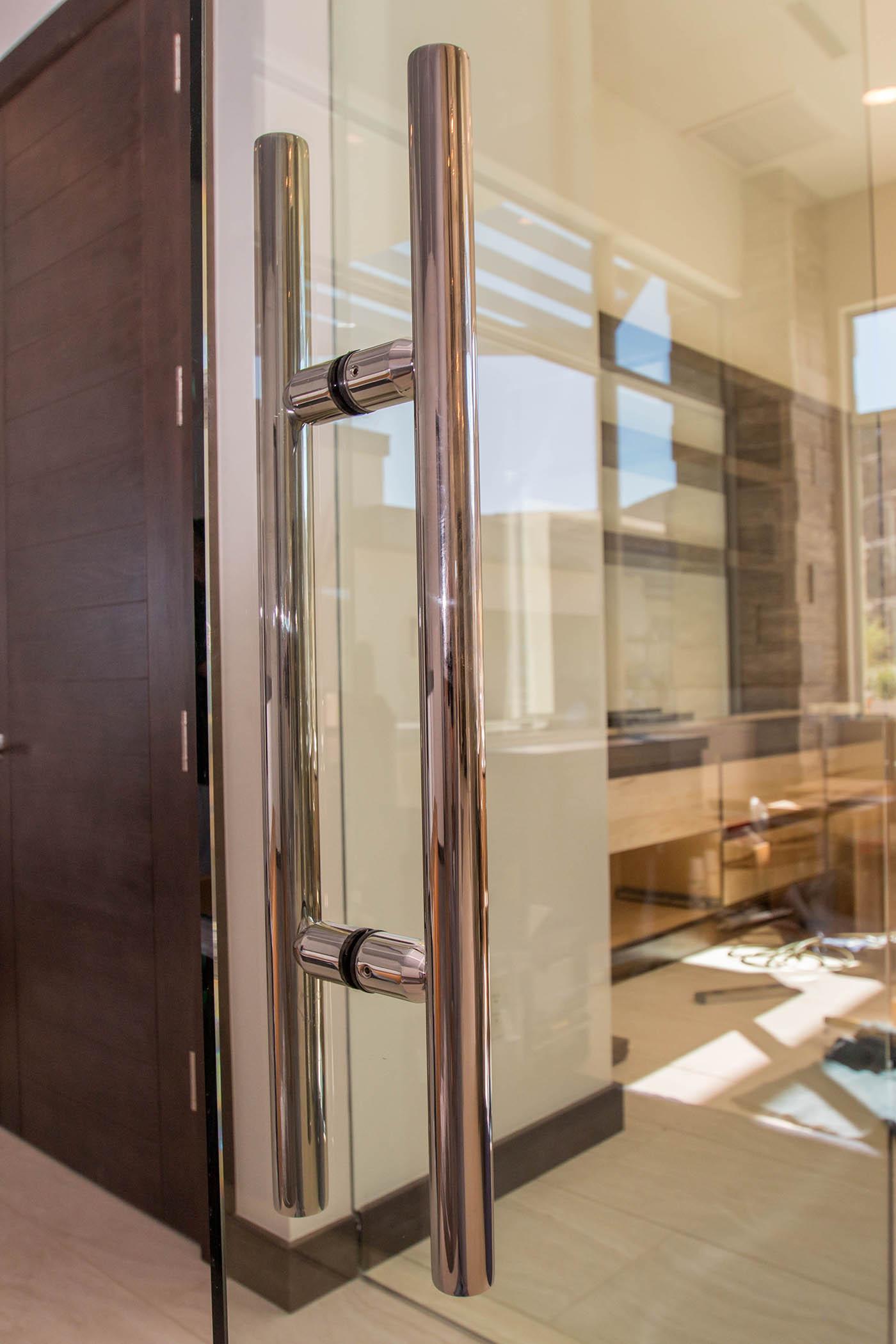 Boulderback Sunwest Custom Home A Cutting Edge Glass Mirror