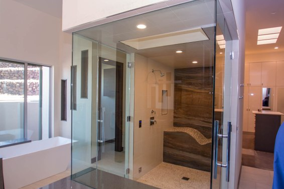 Custom Shower Door Systems by A Cutting Edge Glass & Mirror