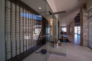 Custom Wine Room Installation for Sunwest Custom Homes