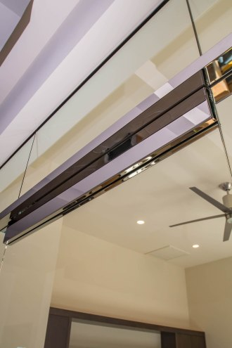Heavy Glass Door Header - A Cutting Edge Glass & Mirror