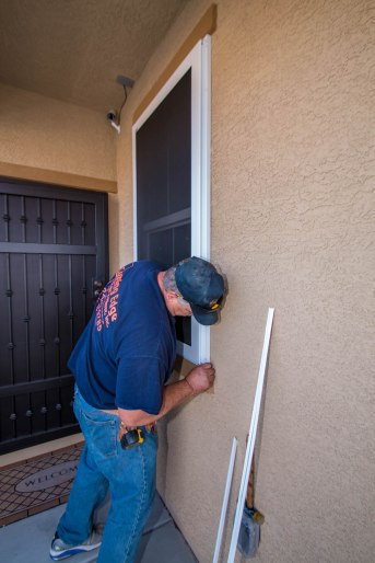 Las Vegas, Nevada Security Screen Installation Service