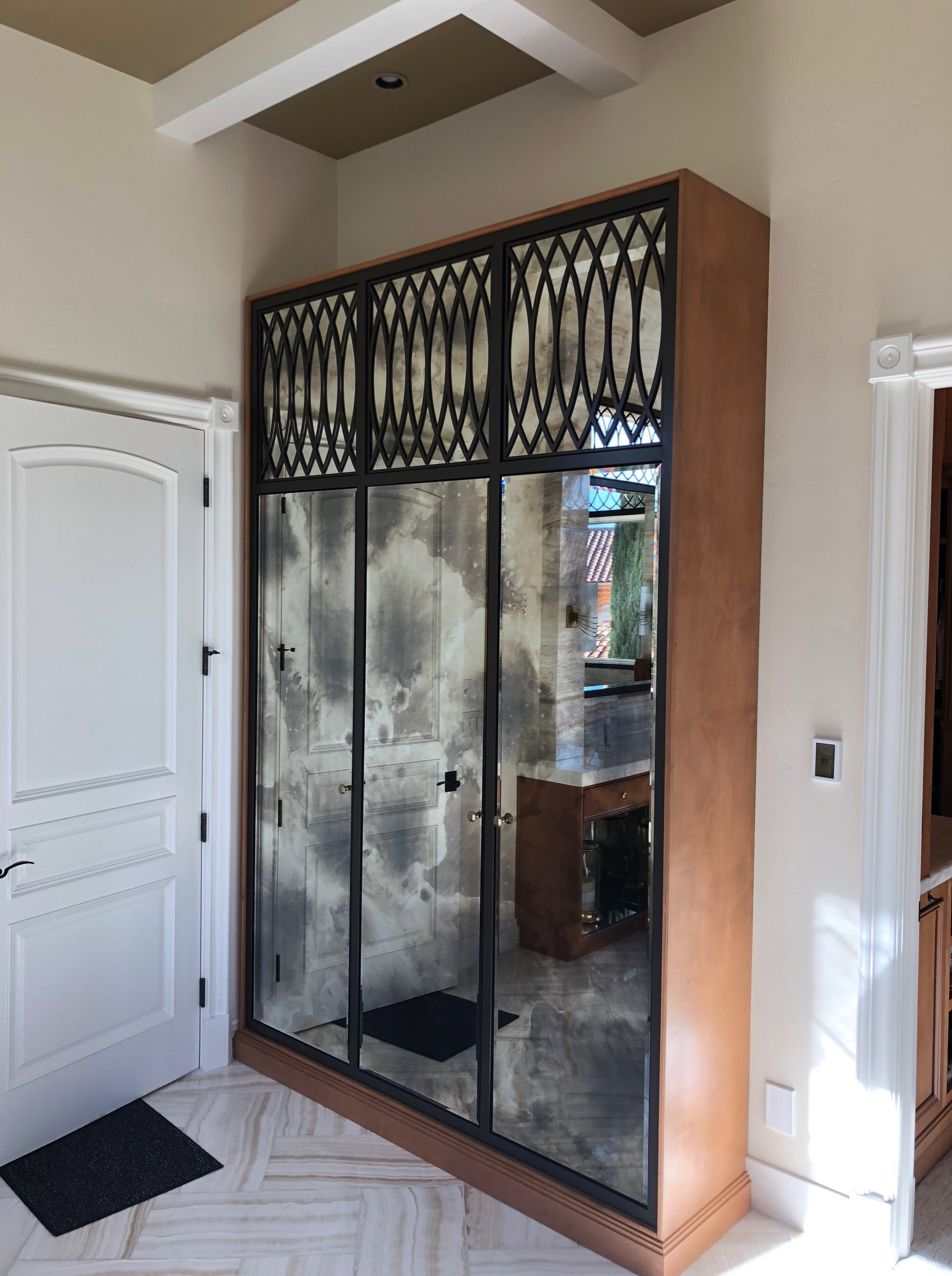 Custom Antique Mirrors And Window Overlays A Cutting Edge Glass