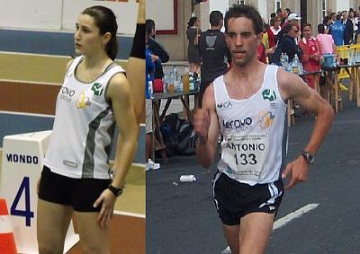 Cristiano António e Diana Morgado